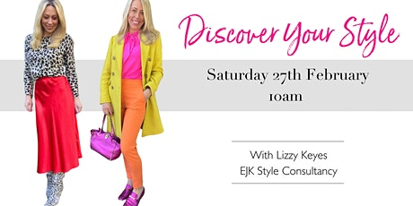 DISCOVER YOUR STYLE with Lizzy Keyes tickets