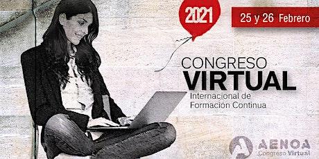 Congreso Internacional VIRTUAL de Formación entradas