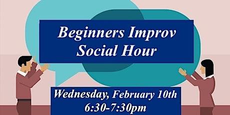 Beginners Improv Social Hour tickets