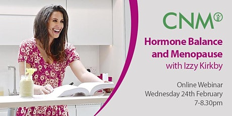 CNM Health Talk: Women's Health: Hormone Balance and Menopause, IE tickets