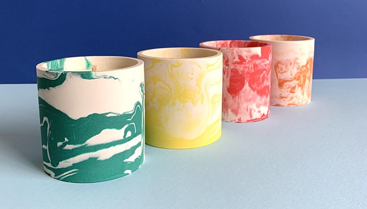 Marble Candle Workshop (Introduction to Essential Oils & Candle Making) image