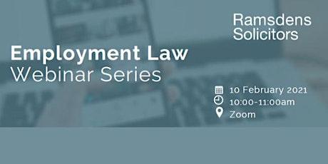 Employment Law Webinar Series tickets