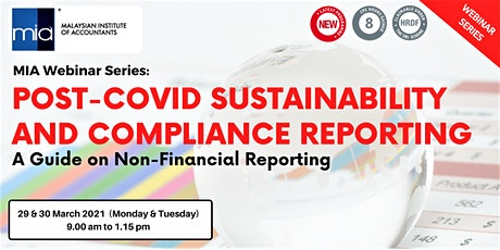 POST-COVID SUSTAINABILITY AND COMPLIANCE REPORTING tickets