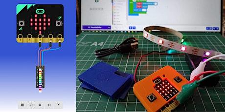 FabLabKids@home: BBC microbit - Programmierung und Elektronik, 2-teilig Tickets