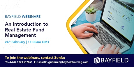 Property Webinar: An Introduction to Real Estate Fund Management tickets