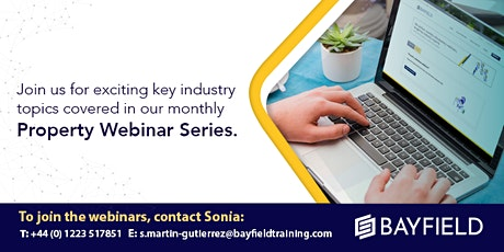 Property Webinar: An Introduction to REITs tickets