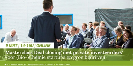 Masterclass Deal Closing met private investeerders tickets