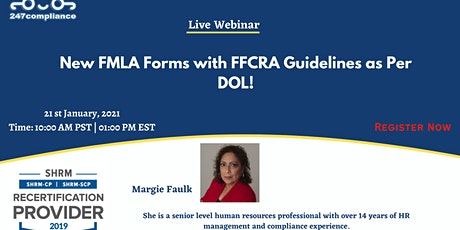 New FMLA Forms with FFCRA Guidelines as Per DOL! tickets