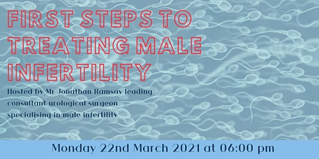 First steps to treating male infertility tickets