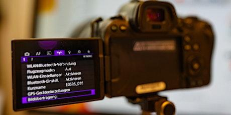 """Let's talk """"Konnektivität der Canon EOS R5, R6 und 1DX III"""" Tickets"""