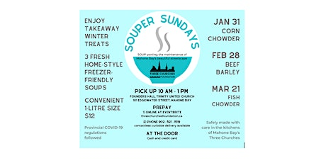 Souper Sundays tickets