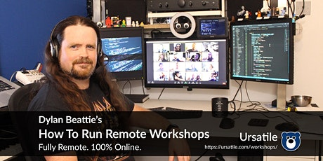 How To Run Remote Workshops tickets