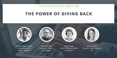 The Power of Giving Back tickets