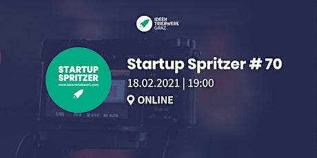 Startup Spritzer #70 - Online tickets