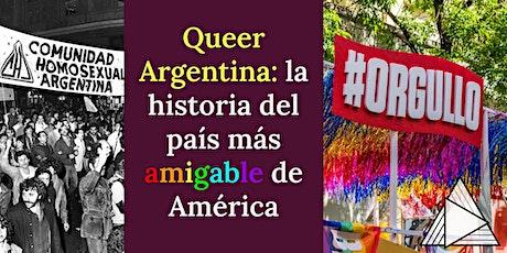 TOUR EN VIVO ONLINE : Queer Argentina: el país más amigable de América boletos