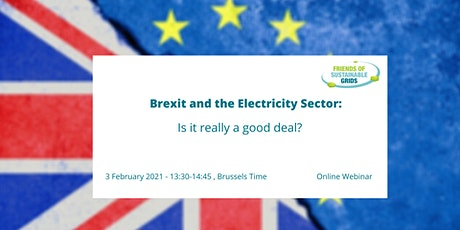 Brexit and the Electricity Sector: Is it really a good deal? tickets