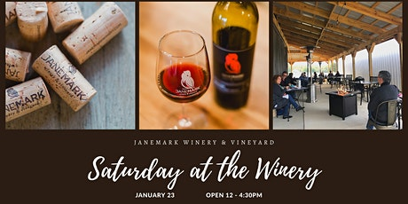 Saturday at the Winery tickets