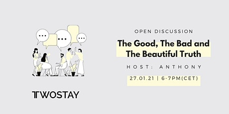 Open Discussion: A.I: The Good, The Bad and The Beautiful Truth tickets