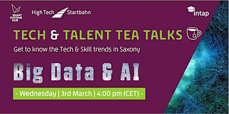 Tech & Talent Tea Talks: Big Data & AI tickets