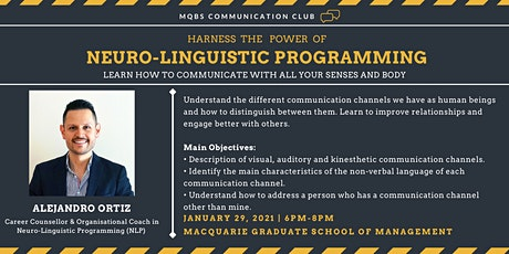 Harness the Power of Neurolinguistic Programming tickets
