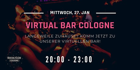 Virtual Bar Cologne Tickets