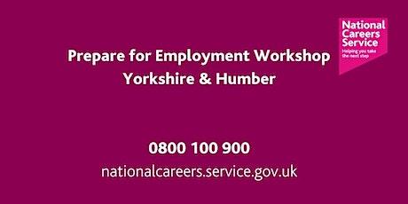 Preparation for Employment Workshop - Yorkshire & Humber tickets