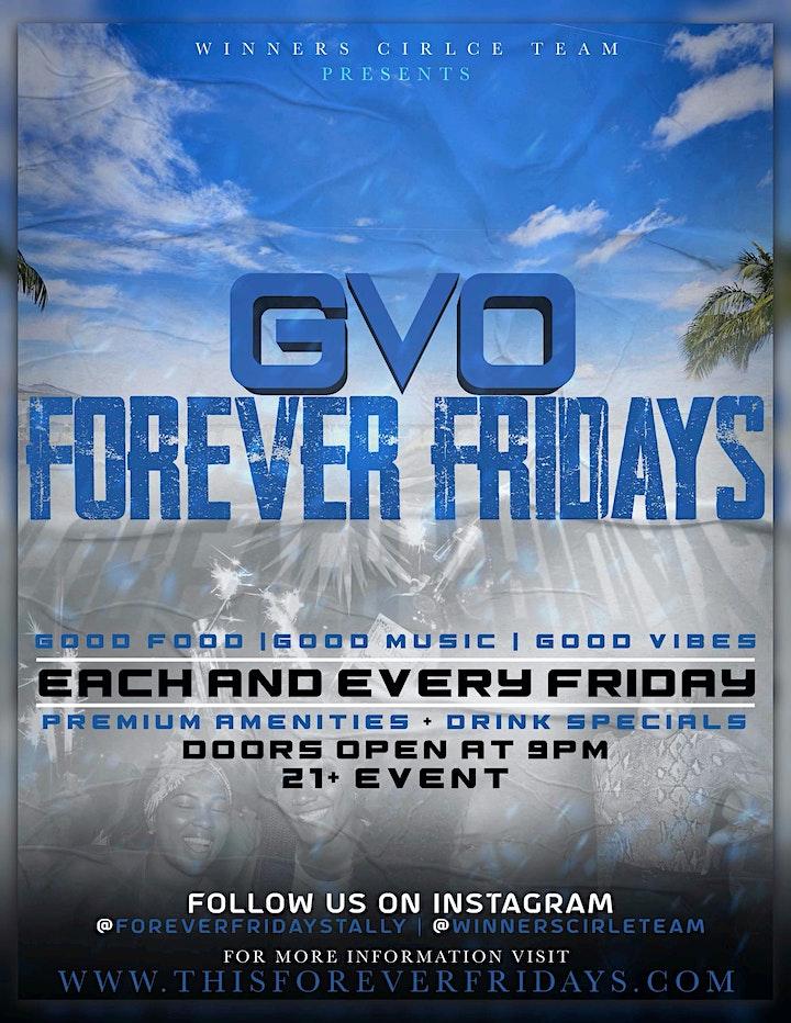 FOREVER FRIDAY'S | GVO SPRING image