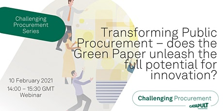Challenging Procurement Series: Transforming Public Procurement tickets