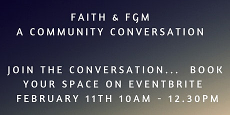 Faith & FGM -  A Community Conversation tickets