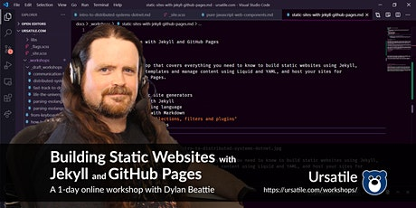 Building Static Websites with Jekyll and GitHub Pages tickets