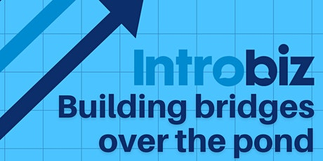 'Building bridges over the pond' Online Virtual Business Networking Event tickets