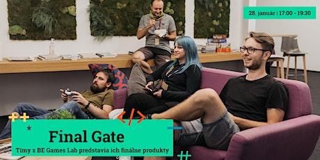 Final Gate: Cesta od prototypu hry až po jej uvedenie na trh tickets