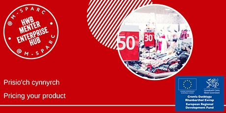Prisio'ch Cynnyrch - Pricing your Product tickets