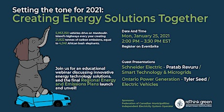 Setting the tone for 2021: Creating Energy Solutions together Tickets