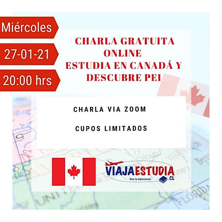Imagen de CHARLA ESTUDIA  EN CANADÁ Y DESCUBRE PEI
