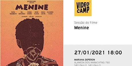 """Sessão Filme """"Menine"""", com equipe Travessia - Estratégias em Inclusão ingressos"""