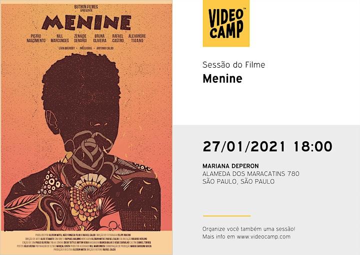 """Imagem do evento Sessão Filme """"Menine"""", com equipe Travessia - Estratégias em Inclusão"""