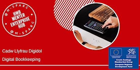 Cadw Llyfrau Digidol - Digital Bookkeeping tickets