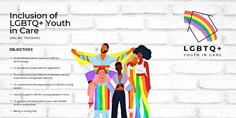 LGBTQ+ Youth in Care tickets