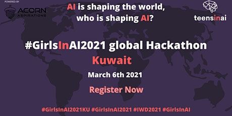#GirlsInAI2021 Hackathon – Kuwait tickets