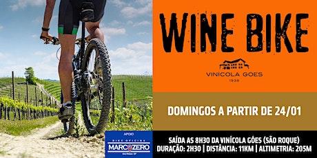 Wine Bike Vinícola Góes ingressos
