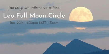 Virtual Leo Full Moon Circle tickets