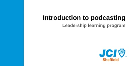 Introduction to podcasting: leadership learning program tickets