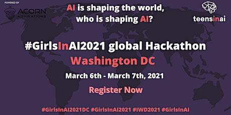 #GirlsInAI2021 Hackathon – Washington DC tickets