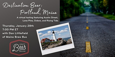 Destination Beer: Portland, Maine tickets