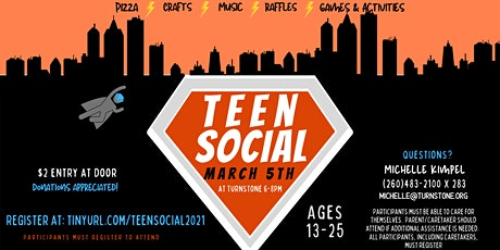 Teen Social at Turnstone tickets