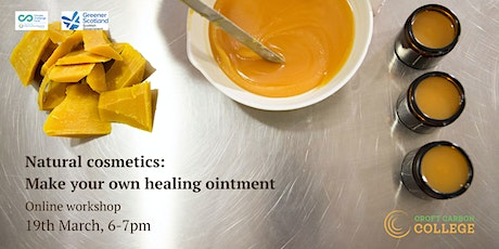 Make your own healing ointment tickets