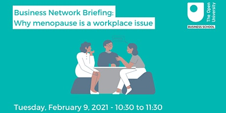 Business Network Briefing: why menopause is a workplace issue tickets