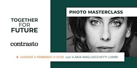 Raccontare con la fotografia: incontro con Ilaria Magliocchetti Lombi biglietti