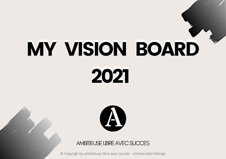 ATELIER VIRTUEL VISION BOARD  2021 image